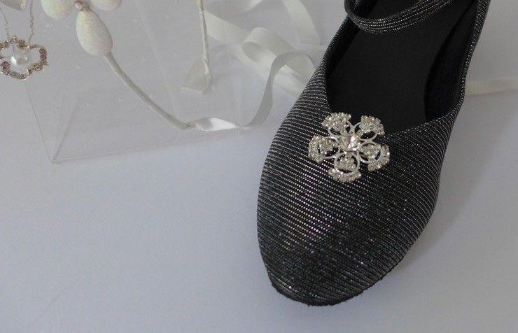 FH2 SC001-Rhinestone shoe clip