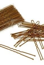 FH2 AZ0028-3 Inch Hair Pin-BROWN