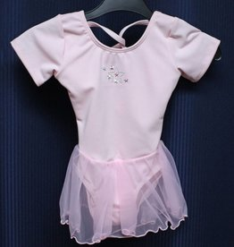 Leo's Dancewear S1960-Dance Dress-PINK-XSC(2-3)CHILD