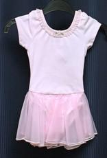 Leo's Dancewear 15149-Dance Dress-PINK-XSC (2-4) CHILD