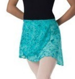 Leo's Dancewear 60-53-Wrap Skirt-Child OneSize-TEAL
