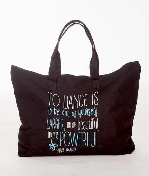 Covet Dance TDI-Canevas Tote-TO DANCE IS...