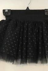 MotionWear 1090-High Waisted Overlay Tutu Skirt