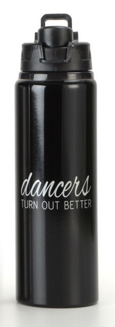 B Plus 710CC11-Dancers Turn Out Better-Aluminium Water Bottle