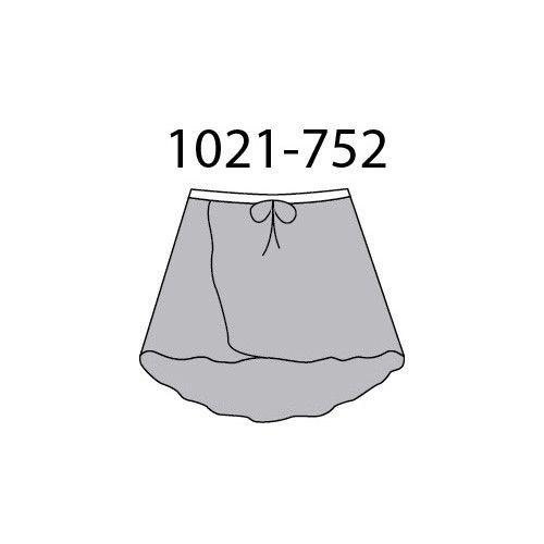 MotionWear 1021-725-Wrap Tie Skirt-ONESIZE ADULTE