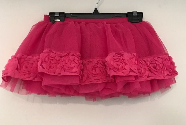 Bloch CR5601-Tutu Skirt-HOT PINK