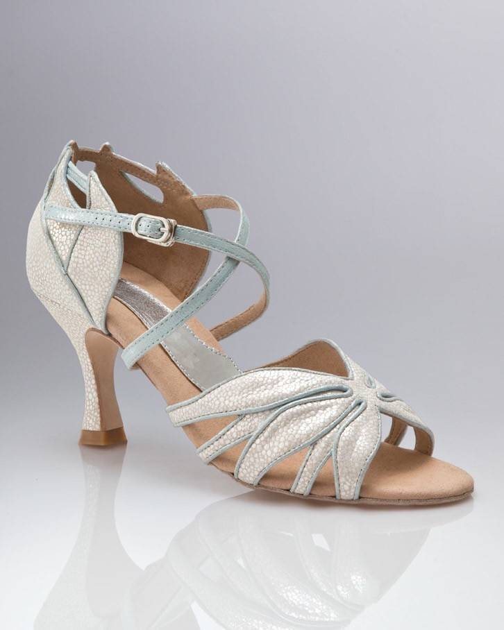 """Capezio BR423-Ballroom Shoes 2.5"""" Suede Sole-ICE LILLY"""