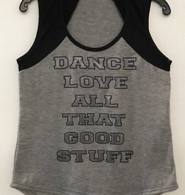 Basic Moves 40142-Varsity Coverup-BLACK/GREY