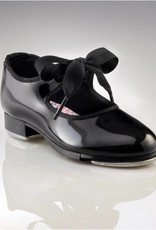 Capezio N625-Jr. Tyette-Black Patent-CHILD