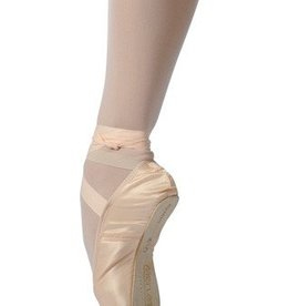 Merlet ADAGIO-Pointe Shoes Beginners to Advanced level-FULL SHANK-FLESH