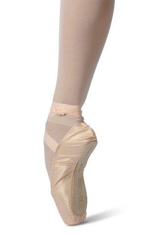 Merlet ADAGIO-Pointe Shoes Beginners to Advanced level-FULL SHANK-FLESH