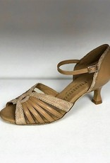 Rummos R563-246-113-50R-Ballroom Shoes 2.2'' Susde Sole Leather-TAN