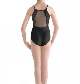 Bloch CL8860-Studded Pearl Back Cami Leotard-BLACK