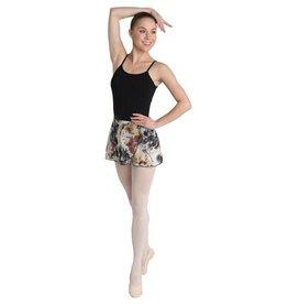 Danshuz 2620A-Adult Erth Tone Warp Skirt