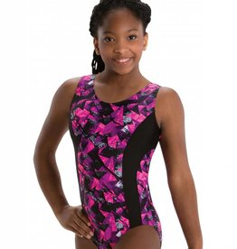 MotionWear 1240-552-Gym Insert Racer Back leo-KINETIC CORAL