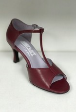 "Merlet SALAME-Ballroom Shoes 2.5"" Suede Sole Leather-HERMES"