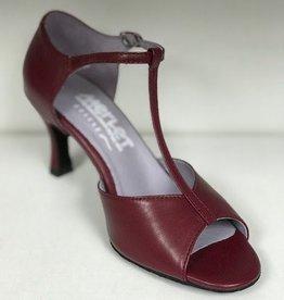 "Merlet SALAMA-Ballroom Shoes 2.5""Suede Sole Leather-HERMES"