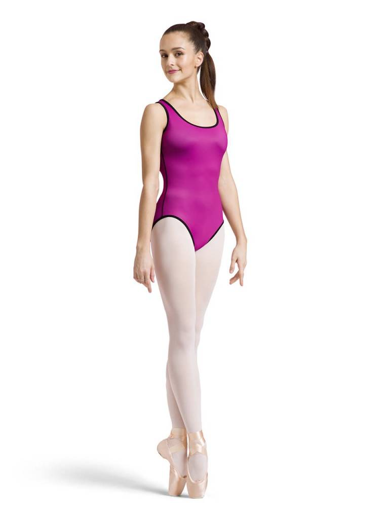 Bloch L1815-Tavi Reversible Leotard-PINK/BLACK