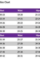 MotionWear 1372-Gym Raglan Front Racerback Leo-PNK/BLK