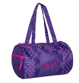 Horizon Dance 1010-Dots Duffel Purple