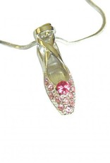 American Dance Supply 502-Pointe Shoe Necklace