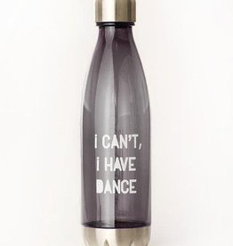 Covet Dance ICIHD2-WB-Water Bottle-I CANT I HAVE DANCE GRAPHITE