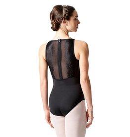 Lulli Dancewear LUF-547-Floral Lace Camisole Leotard-BACK