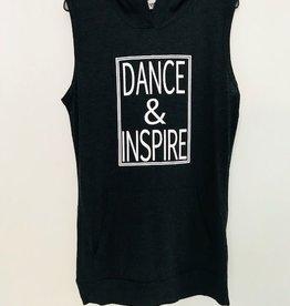 Trendy Trends INS3208-Dance & Inspire Sleeveless Hoodie