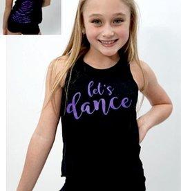 Trendy Trends K7005LD-Lace Back Heart Dance-PURPLE
