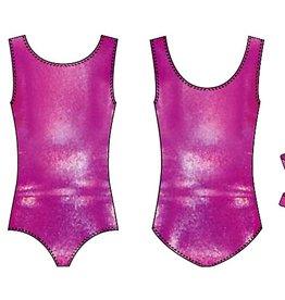 Leo DanceWear GB134C-Mirror Dots Gym Tank leotard Pink