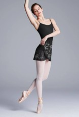 Bloch R5791-BLAIRE-Printed Warp Skirt-BLOSSOM