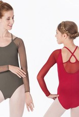 Intermezzo 31469-Mesh Long Sleeve Leotard