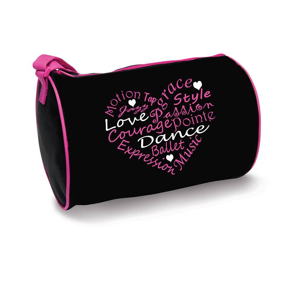 Danshuz B730-Dance Words Heart Duffel