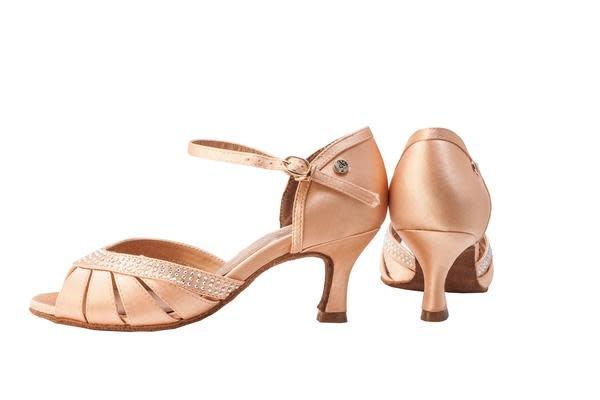 Ads / A Plus Dance Shoes A-6801-Ballroom Shoes 2.5'' Suede Sole