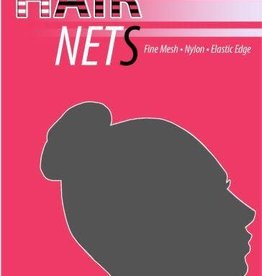 Whirl-A-Style HNET-Hair Net-MED-BROWN-ONE SIZE