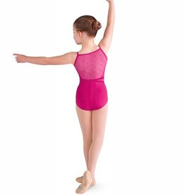 Bloch CL9877-Catrina Diamond Mesh Back Cami Leotard