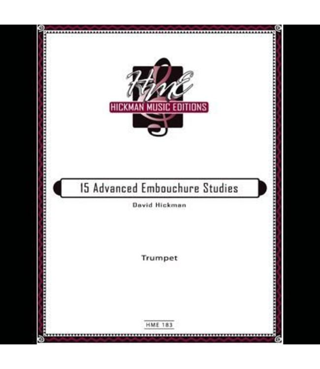 Hickman 15 Advanced Embouchure Studies ( Hickman )
