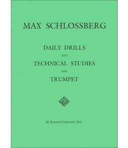 M. Baron Company Daily Drills and Technical Studies for Trumpet (Schlossberg)