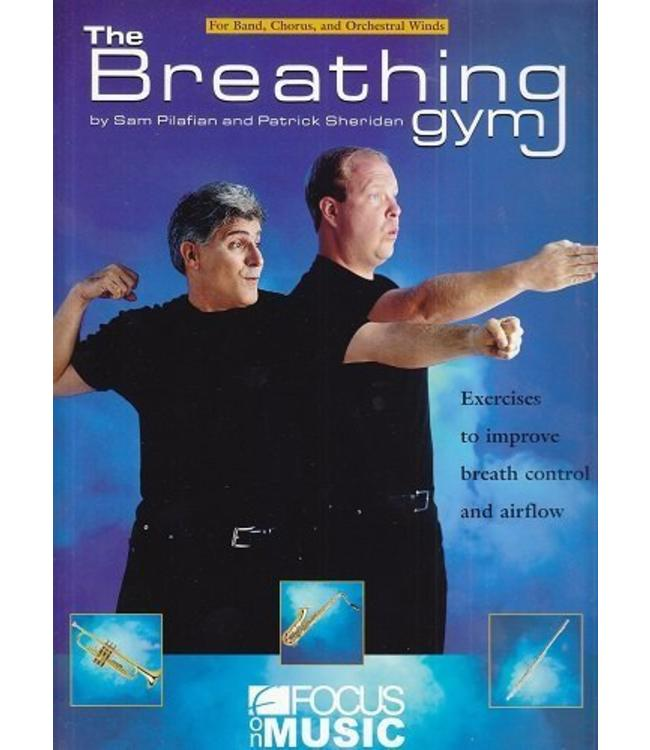 Focus on Music The Breathing Gym Book & DVD Set By Patrick Sheridan & Sam Pilafian