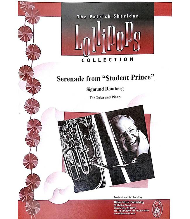 """Dillon Music Serenade from """"Student Prince"""" - Sigmund Romberg, For Tuba and Piano"""
