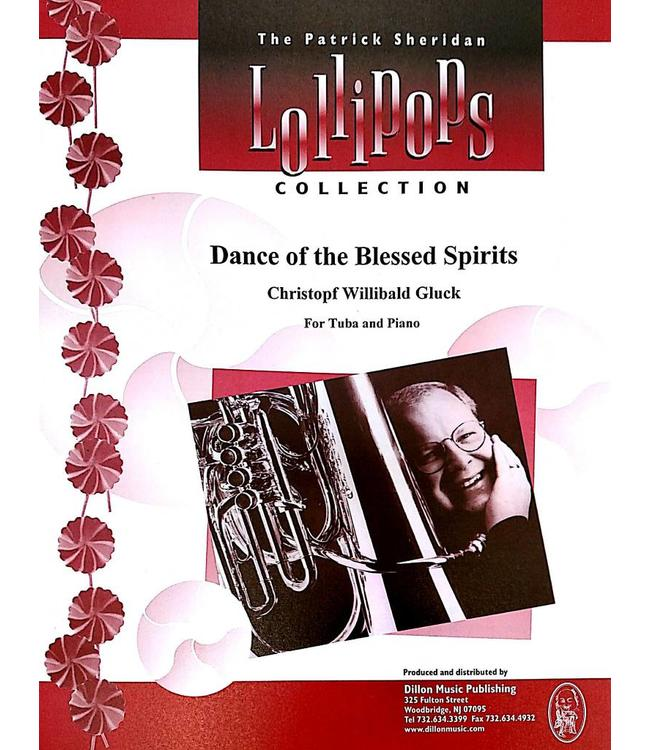 Dillon Music Dance of the Blessed Spirits - Christopf Willibald Gluck, For Tuba and Piano