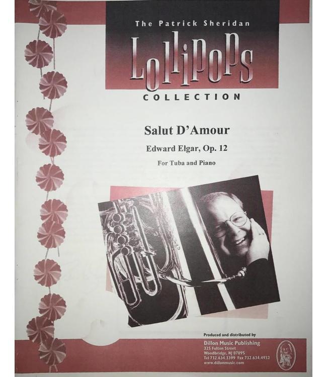 Dillon Music Salut d'Amour - Edward Elgar, For Tuba and Piano