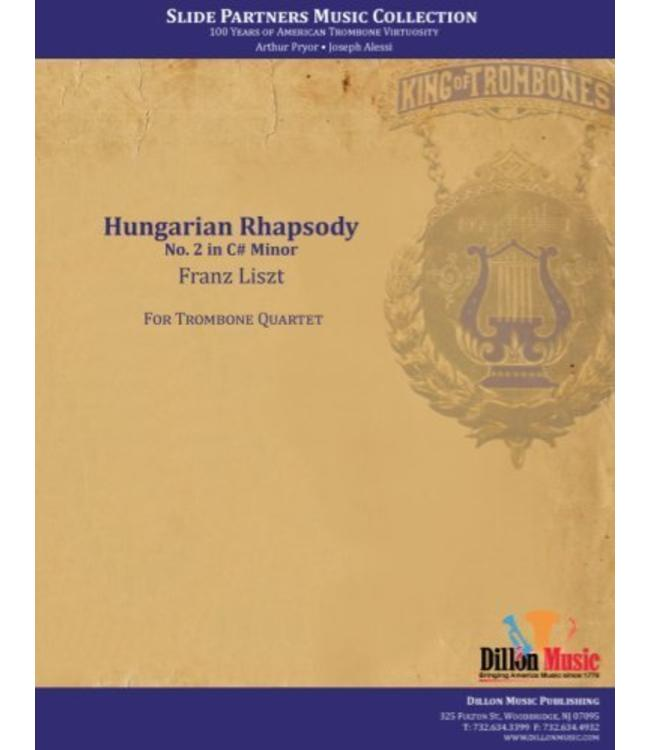 "Dillon Music Hungarian Rhapsody- Trombone Quartet, from ""Slide Partners CD"""
