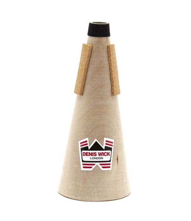 Denis Wick Denis Wick Special Order - Wooden Straight Mute for D Trumpet/sopr cornet