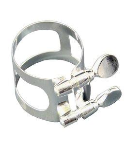 Yamaha Eb Alto Clarinet Ligature; silver plated; Yamaha