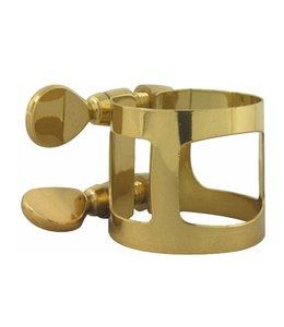 Yamaha Yamaha Soprano saxophone ligature; gold laquer; Yamaha
