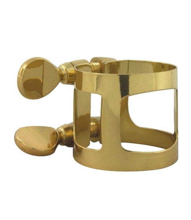 Yamaha Soprano saxophone ligature; gold laquer; Yamaha