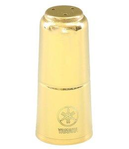 Yamaha Yamaha Soprano Saxophone Mouthpiece Cap; Gold Lacquer