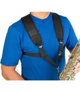 Protec Protec Saxophone Harness with Deluxe Metal Trigger Snap