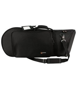 Protec Protec Euphonium Bag (Bell Forward) - Gold Series Black